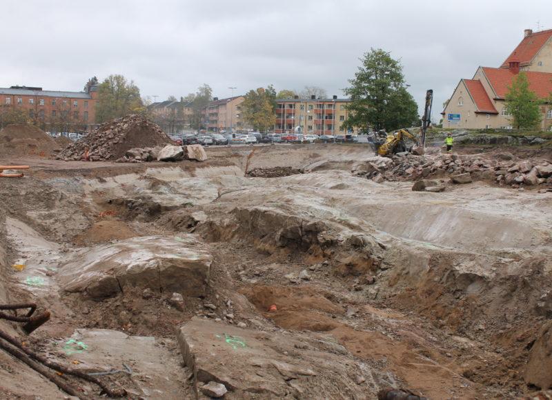 Parkeringshus vid Karlstads Centralsjukhus